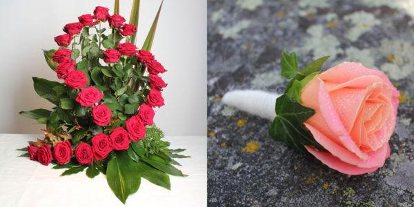 Visa din uppskattning med blommor