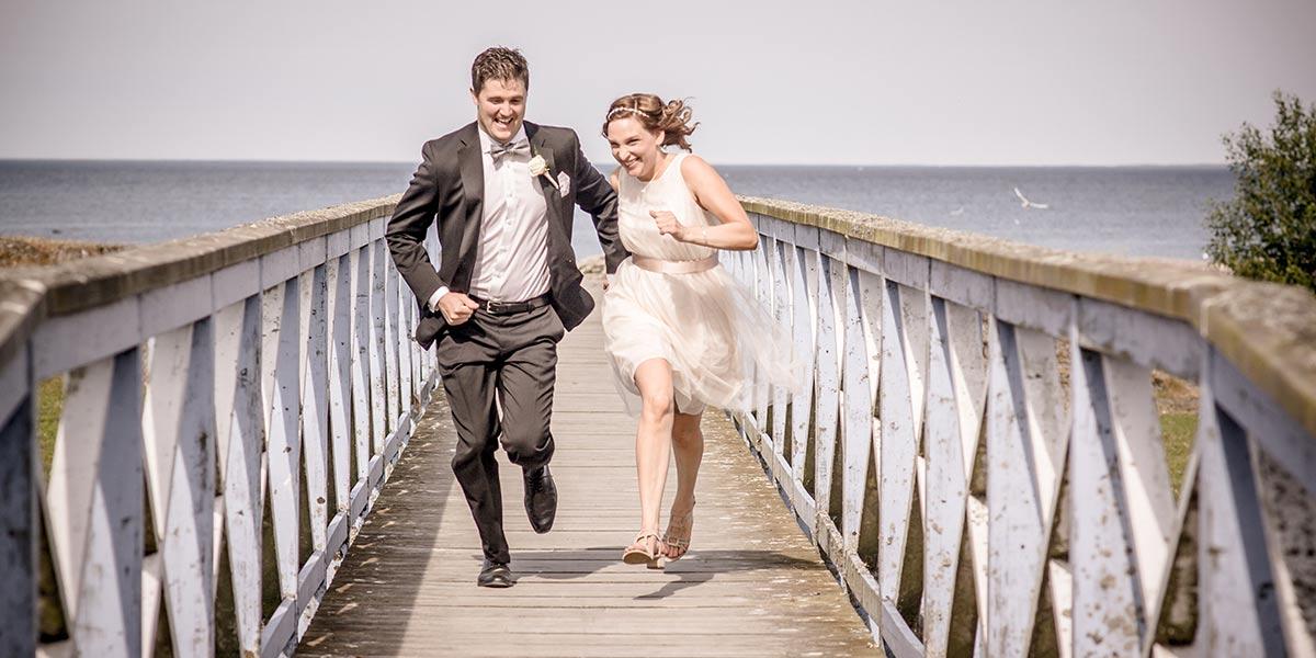 Blommor och brudbukett till bröllop i Vänersborg